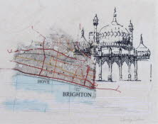 Brighton on the Map