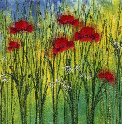 Poppies & Corn